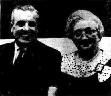 Mr Gordon and Miss Bayne 1971