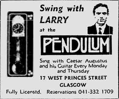 Pendulum advert 1976