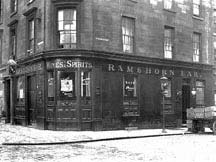Ramshorn Bar exterior Argyle Street
