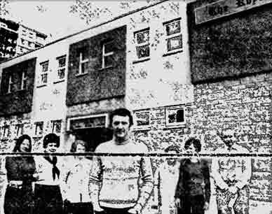The Royal Bar Bank Street Coatbridge 1978