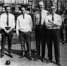 Royalty Burns Club Bowlers 1970a