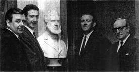 Mr W R Macrae, Mr D McFarlane Mr J Snowie in 1970