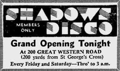 Shadows advert 1976