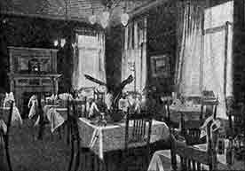 image interior Sloan's Arcade Cafe 1930s