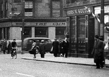 John W Souter bar in Crown Street corner of Cumberland Street