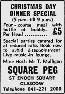 Square Peg advert 1976