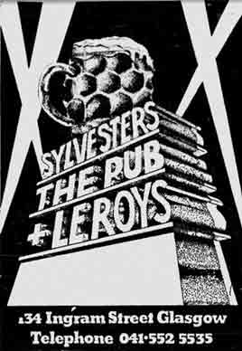 Sylvesters advert 1981