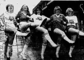 Casper football girls 1982