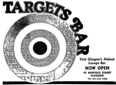 Targets sign on the wall 1978