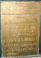 Vale plaque