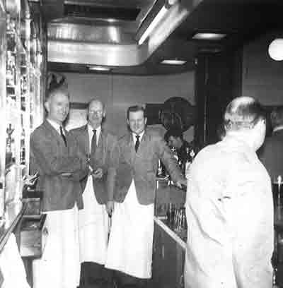 Victoria Bar, Springburn mid 1950s