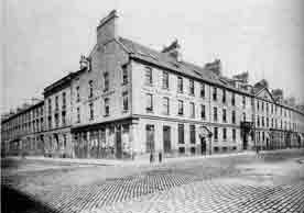 The Waverley Crow and Clarence hotels George Square